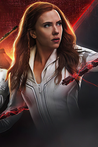 480x800 Black Widow 2020 Poster 4k