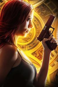 240x320 Black Widow 2020 Poster
