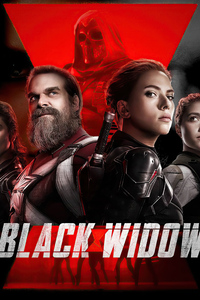 240x320 Black Widow 4k 2020 Artwork