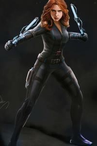 Black Widow 4k Artwork New