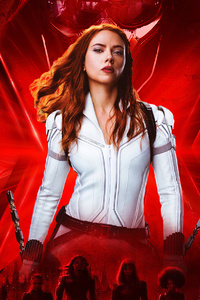 2160x3840 Black Widow 4k Movie 2020