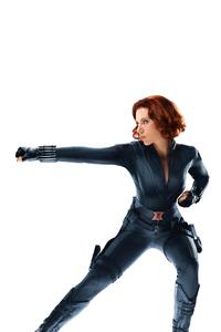 1125x2436 Black Widow 8k