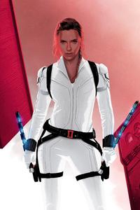 320x480 Black Widow Agent Movie 5k