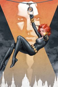 720x1280 Black Widow Arts New