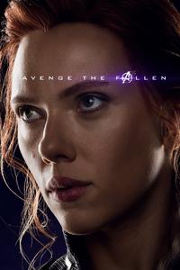 Black Widow Avengers Endgame 2019 Poster
