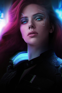 Black Widow Cyberpunk 2077