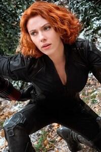 640x1136 Black Widow In Avengers