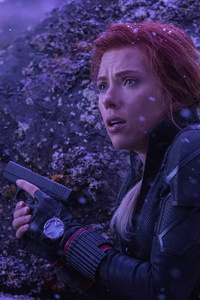 720x1280 Black Widow In Avengersendgame