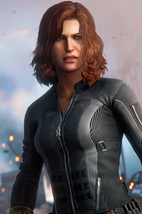 720x1280 Black Widow Marvels Avengers 5k