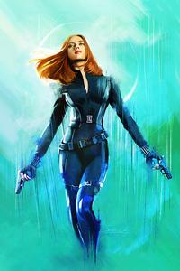 540x960 Black Widow Natasha Romanoff 4k