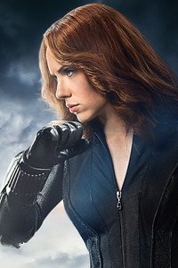 720x1280 Black Widow Natasha Romanoff 8K