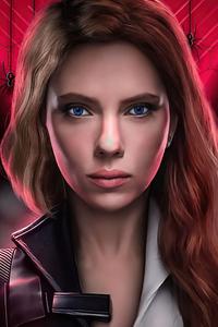 240x400 Black Widow Natasha Romanoff