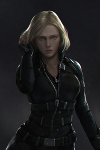 720x1280 Black Widow Newart