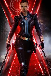 Black Widow Poster 4k