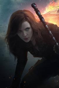 320x568 Black Widow What If Tv Series 4k