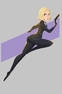 Black Widow4k Minimal