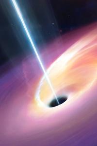 750x1334 Blackhole 4k