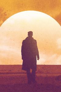 480x800 Blade Runner 2049 Art 4k