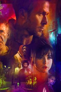 1125x2436 Blade Runner 2049 Fanart