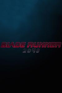 Blade Runner 2049 Logo 5k
