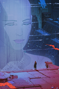 320x480 Blade Runner 2049 Movie Artwork HD