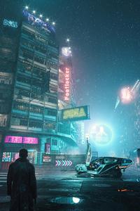 1125x2436 Blade Runner 2049 Tokyo Cyberpunk 4k