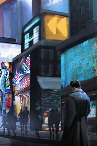 Blade Runner Art 4k