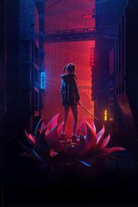 1080x1920 Blade Runner Black Lotus