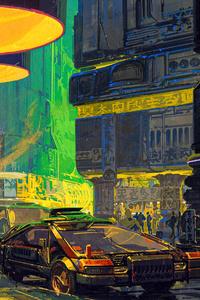 Blade Runner Streets 4k