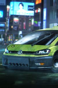 Blade Runner Volkswagen Golf Hatchback