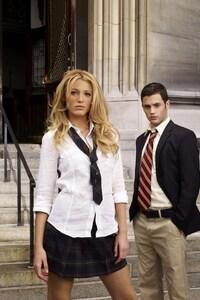 Blake Lively In School Dress