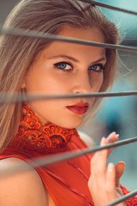 Blonde Girl Beautiful Eyes
