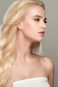 240x320 Blonde Girl Hair