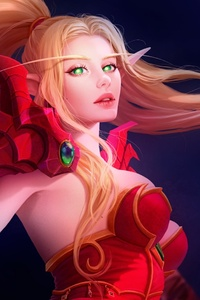 Blood Elf World Of Warcraft