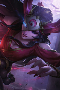 1080x1920 Blood Moon Sivir League Of Legends
