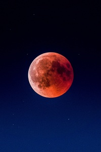Blood Moon Star 4k