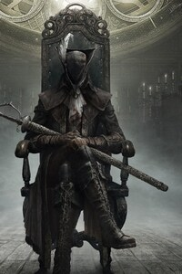 240x320 Bloodborne The Old Hunters