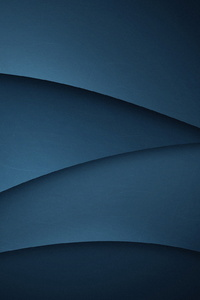 1080x2280 Blue Abstract Wave Flow Minimalist
