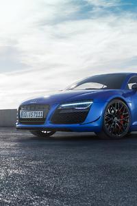 540x960 Blue Audi 4k