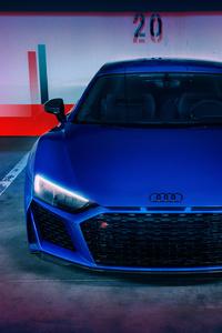 1280x2120 Blue Audi R8