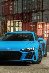 Blue AudiR8 Jenn 8k
