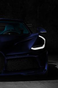 Blue Bugatti Divo