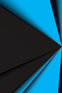 720x1280 Blue Dark Geometry 8k