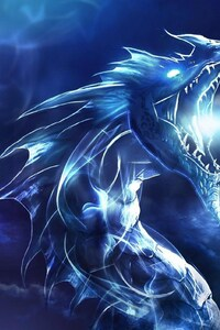 720x1280 Blue Dragon