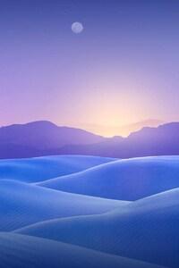 480x854 Blue Dunes