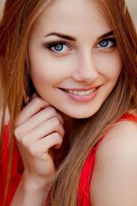 Blue Eyes Blonde Girl