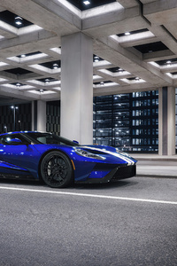 Blue Ford Gt