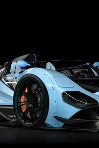 Blue Grand Sport Car