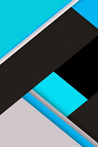 Blue Green Material Design Abstract 8k