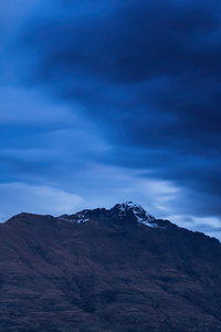 240x320 Blue Hour New Zealand Mountains 4k